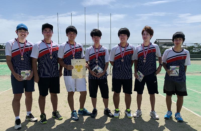 日本工学院専門学校 テニス部のみなさん 2