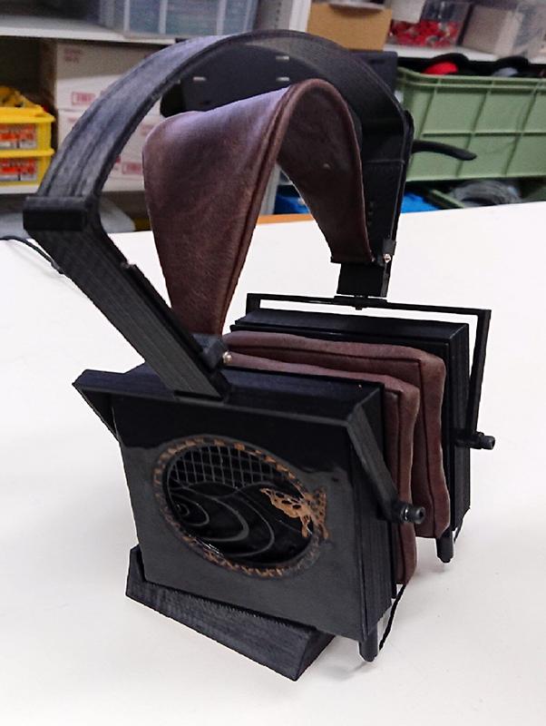 学生が製作したヘッドフォン