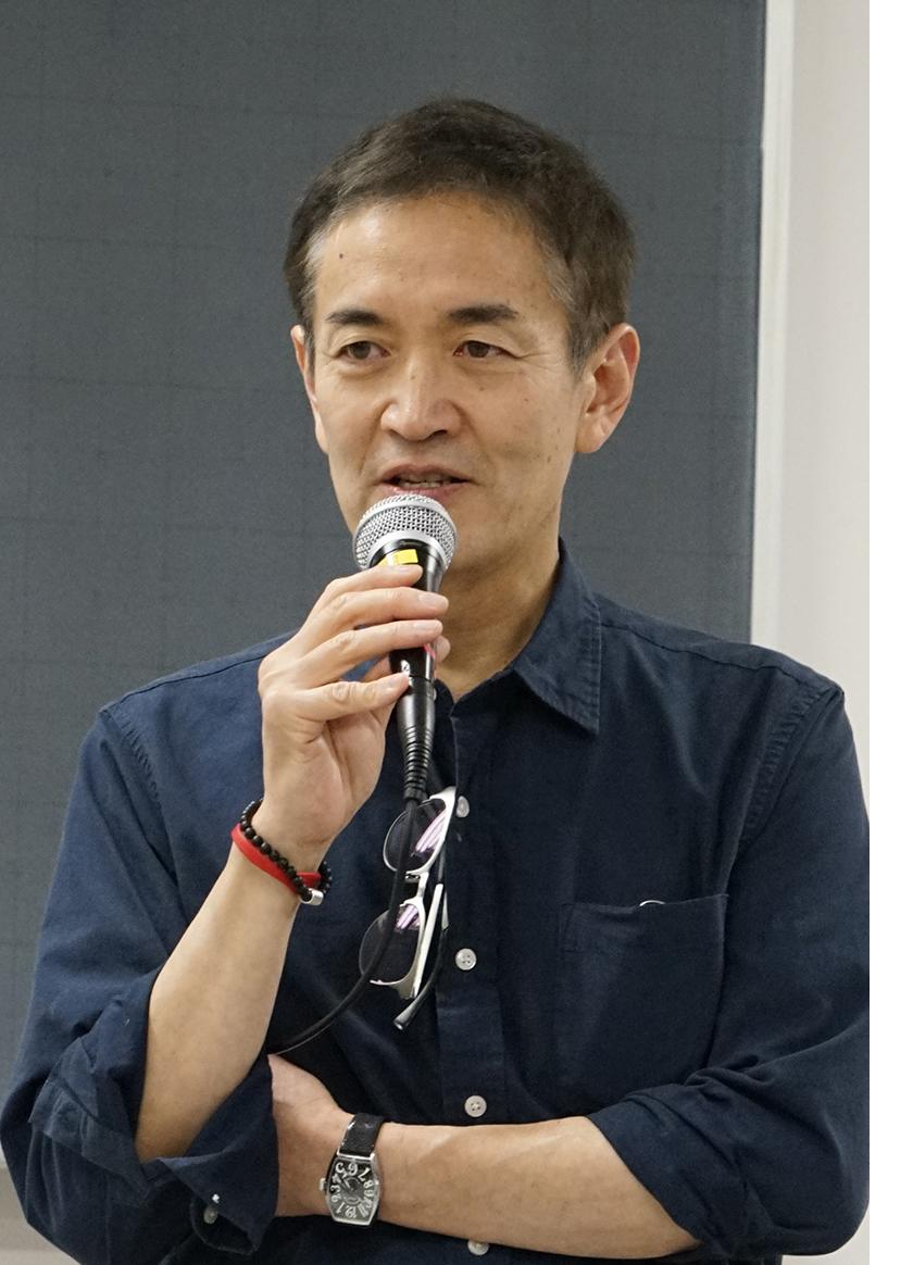 永島譲二デザイン学部客員教授